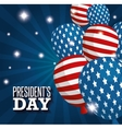 happy presidents day poster vector image