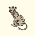 Little tiger cartoon
