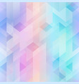 pastel geometric seamless pattern vector image