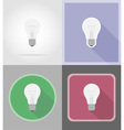 power and energy flat icons 15 vector image