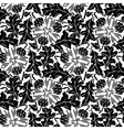 seamless pattern of dandelion vector image vector image