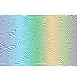 striped color vector image