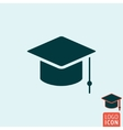 Student icon isolated vector image
