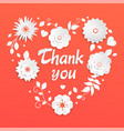 thank you - modern colorful vector image vector image