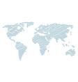 worldwide atlas pattern of crossing swords items vector image