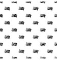 finish flag pattern seamless vector image vector image