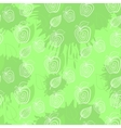 Fresh apple Seamless pattern Applegreenleaf leafs vector image vector image