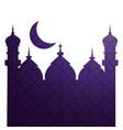 islamic building icon vector image