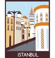 Istanbul street vector image