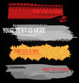 motorcycle tire banners vector image vector image