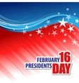 Presidents Day Background vector image vector image