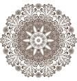 circular pattern indian vector image