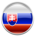flag of Slovak republic vector image vector image