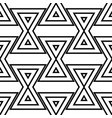 geometric background triangle seamless pattern vector image
