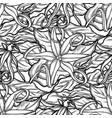 graphic ylang ylang pattern vector image vector image