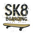 skateboard 013 vector image vector image