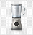 blender empty juicer or food mixer isolated vector image
