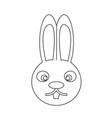 bunny rabbit icon vector image