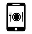 food online vector image