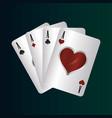 gamble casino concept vector image