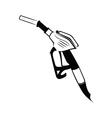 Gasoline pump nozzle vector image vector image
