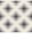 halftone seamless pattern with small shapes vector image vector image