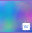 holographic editable design vector image vector image