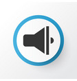 loudspeaker icon symbol premium quality isolated vector image vector image