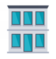 Office Building vector image vector image