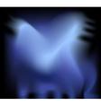 satin abstract vector image