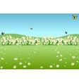 Spring Meadow vector image vector image