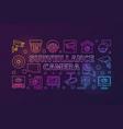 surveillance camera colorful horizontal vector image vector image