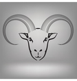 symbol of goat vector image