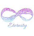 The sign of eternity with a boho