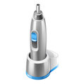 trimmer for nose and ears vector image vector image