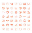 49 pie icons vector image vector image