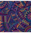 Abstract tribal ethnic background pattern vector image vector image