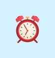 alarm clock wake-up time vector image