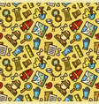 archeology seamless pattern vector image vector image