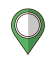 gps pin icon image vector image vector image