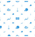 grass icons pattern seamless white background vector image vector image