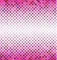 Pink horizontal square pattern background vector image vector image