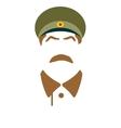 portrait of Joseph Stalin vector image vector image