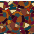 Seamless texture with elements of stained glass vector image