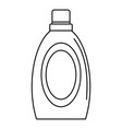 wash clean bottle icon outline style vector image