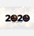 2020 new year beautiful greeting in christmas vector image