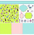 Colorful set vector image vector image