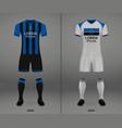 football kit 2018-19 shirt template vector image vector image