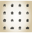 House an icon vector image vector image