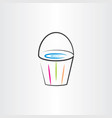 water bucket clipart vector image vector image